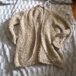 Kenzie soft fuzzy cardigan